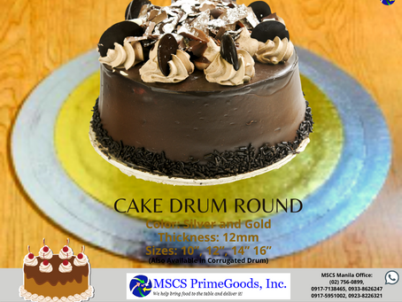Cake Drum Supplier