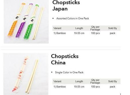 Chopsticks Supplier (MSCS)