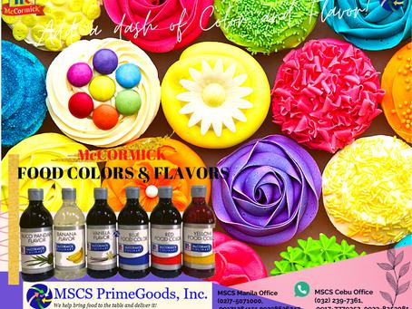 McCormick Flavors & Colors Supplier