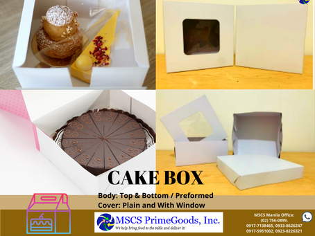 Cake Box Supplier