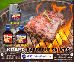 Kraft Barbecue Sauces Supplier