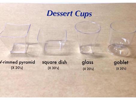 Dessert Cups Supplier (MSCS)