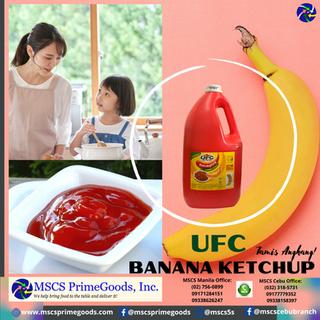 UFC Banana Ketchup Supplier