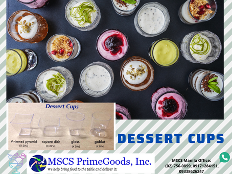 Dessert Cups Supplier (MSCS)