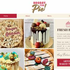 Hooray For Pie! Website & Logo
