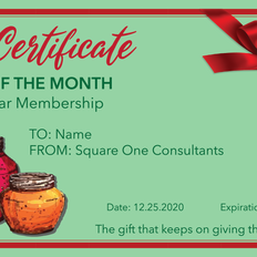 SQ1 Holiday Bonus Card