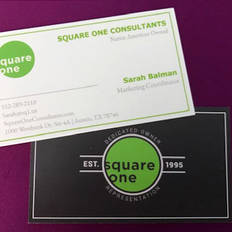 SQ1 Business Cards