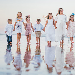 Beach Photography - All the kids