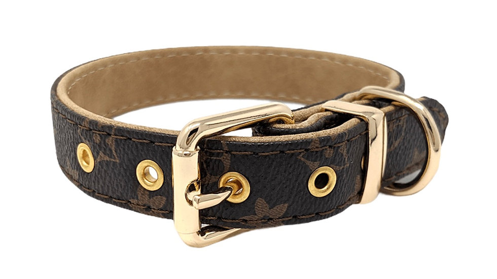 Collier Marron Chewi Louis Catwalk Dog