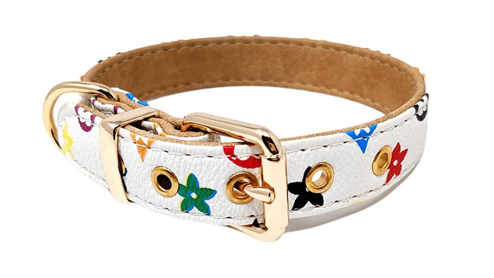Collier blanc Chewi Louis Catwalk Dog