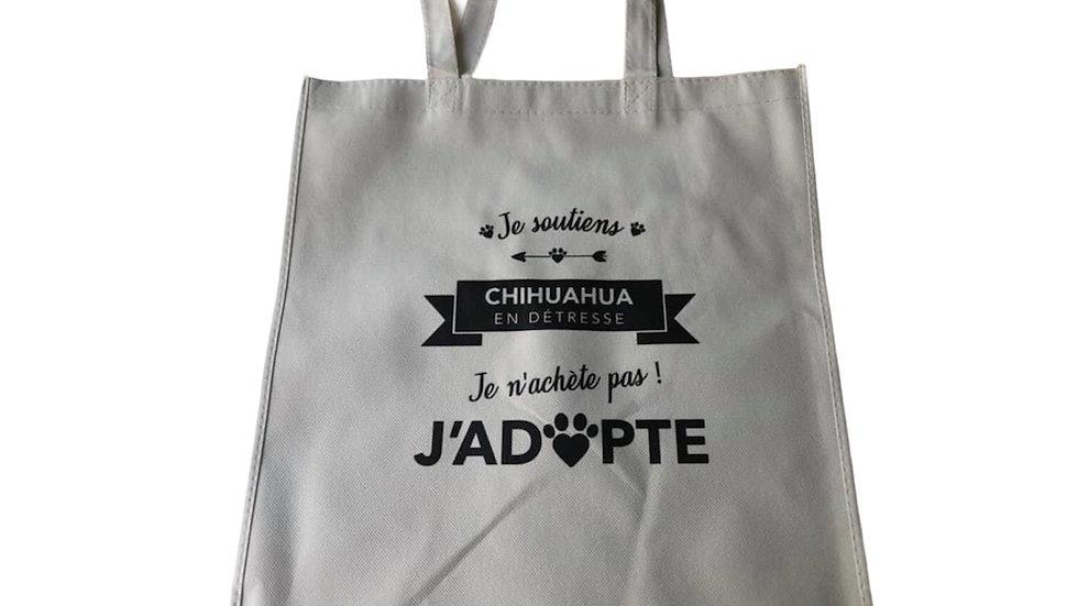 Tote bag Chihuahua en détresse