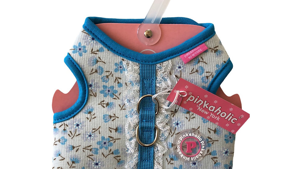 Harnais veste bleu Pinkaholic