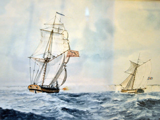 """""""Struck Severely with Such a Spectacle"""" - The Privateer Yankee Hero"""