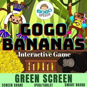 GoGo Bananas Interactive Game by GoGo Speech