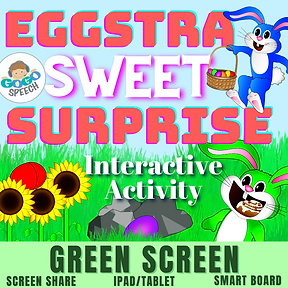 Eggstra Sweet Surprise Interactive Activity by GoGo Speech