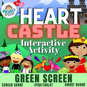 Heart Castle Interactive Activity by GoGo Speech