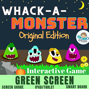 Whack-A-Monster Original Edition Interactive Game by GoGo Speech
