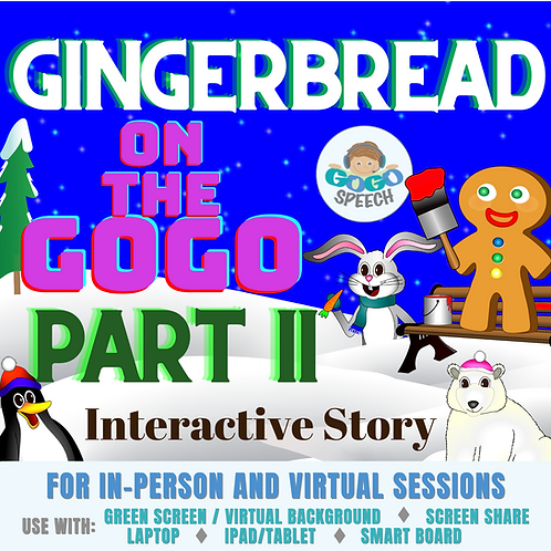 Gingerbread on the GoGo Part II
