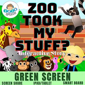 Zoo Took My Stuff? Interactive Story by GoGo Speech