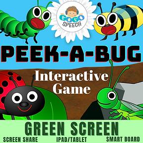Peek-A-Bug Interactive Game by GoGo Speech