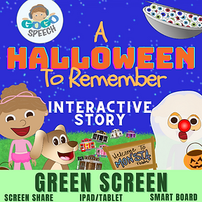 A Halloween To Remember Interactive Story by GoGo Speech