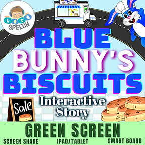 Blue Bunny's Biscuits Interactive Story by GoGo Speech