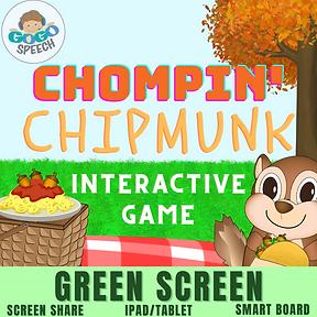 Chompin' Chipmunk Interactive Game by GoGo Speech