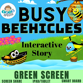 Busy Beehicles Interactive Story by GoGo Speech