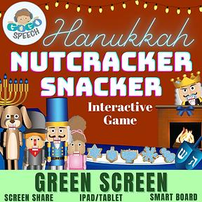 Hanukkah Nutcracker Snacker Interactive Game by GoGo Speech