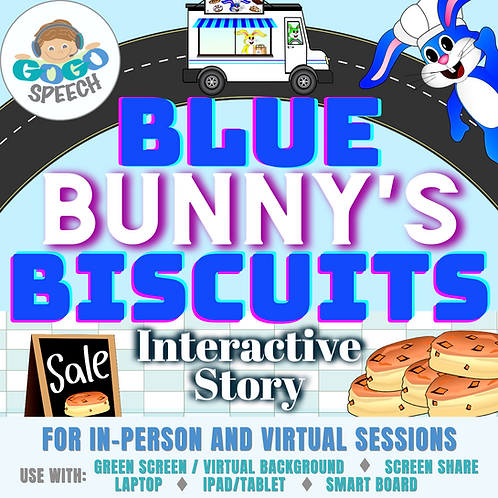 Blue Bunny's Biscuits