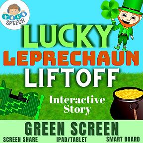 Lucky Leprechaun Liftoff Interactive Story by GoGo Speech