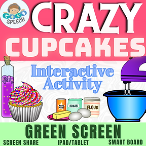 Crazy Cupcakes Interactive Story by GoGo Speech