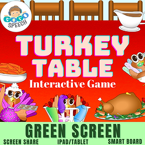 Turkey Table Interactive Game by GoGo Speech