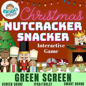 Christmas Nutcracker Snacker Interactive Game by GoGo Speech