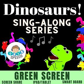 Dinosaurs! Sing-Along Series by GoGo Speech
