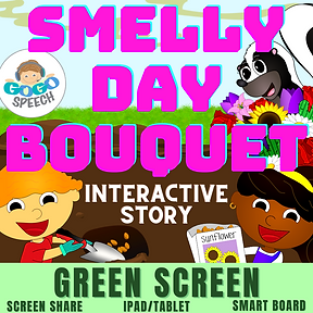 Smelly Day Bouquet Interactive Story by GoGo Speech