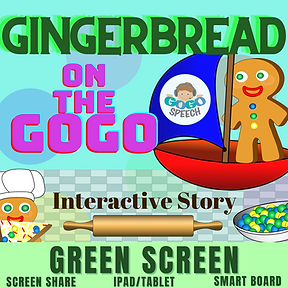 Gingerbread on the GoGo Interactive Story by GoGo Speech