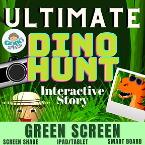 Ultimate Dino Hunt Interactive Story by GoGo Speech