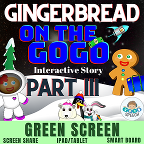 Gingerbread on the GoGo Part 3 interactive story by GoGo Speech