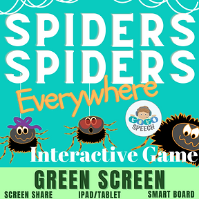 Spiders Spiders Everywhere Interactive Game by GoGo Speech