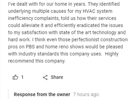 Great Reviews Are Our Biggest Reward!