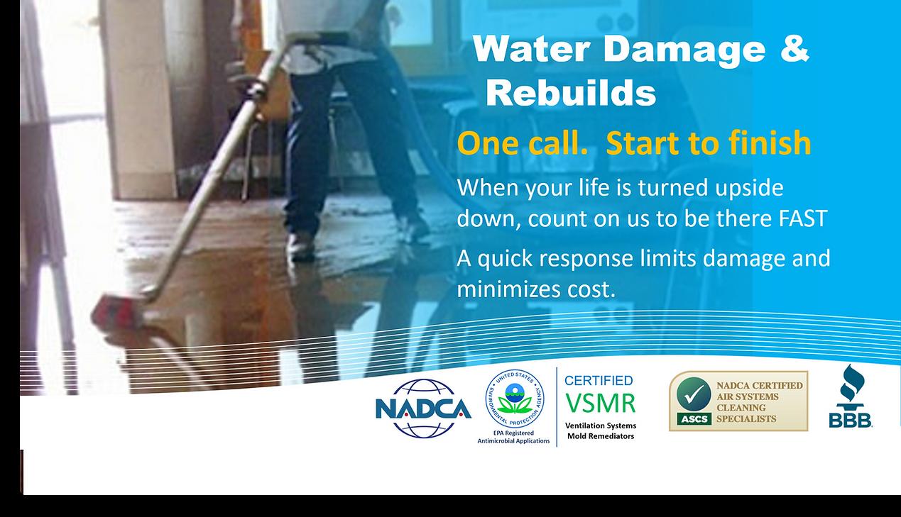 water damage repair