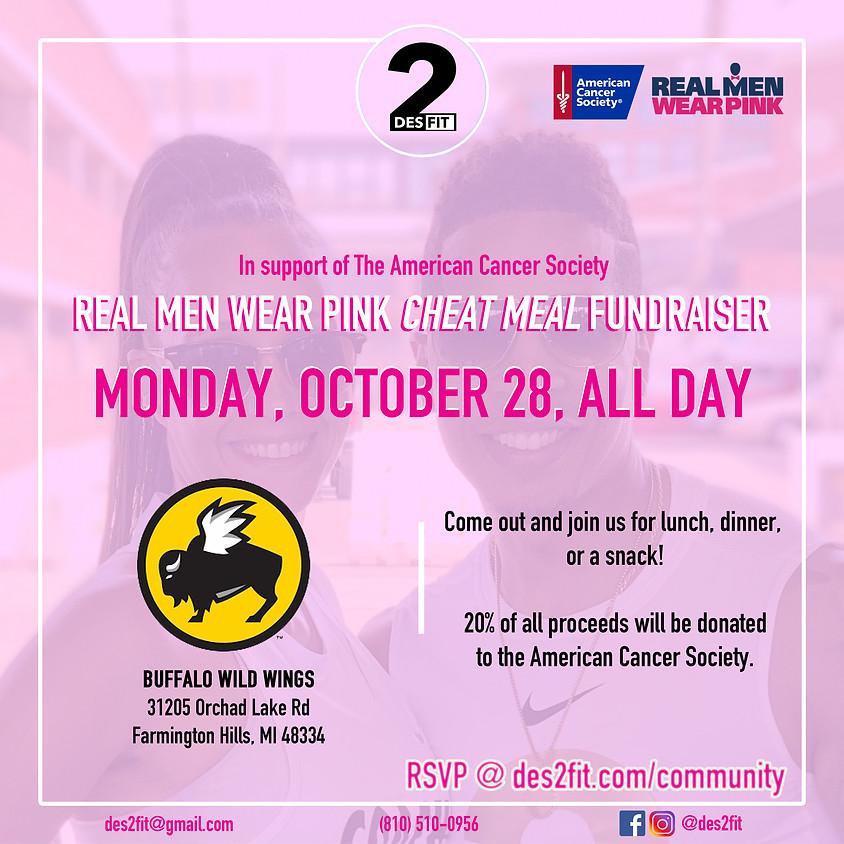 Cheat Meal Fundraiser: Buffalo Wild Wings