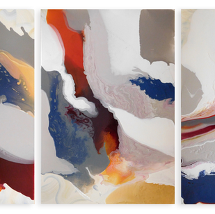 West Wind Current (triptych)
