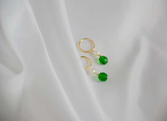 Nani (Green) Earrings