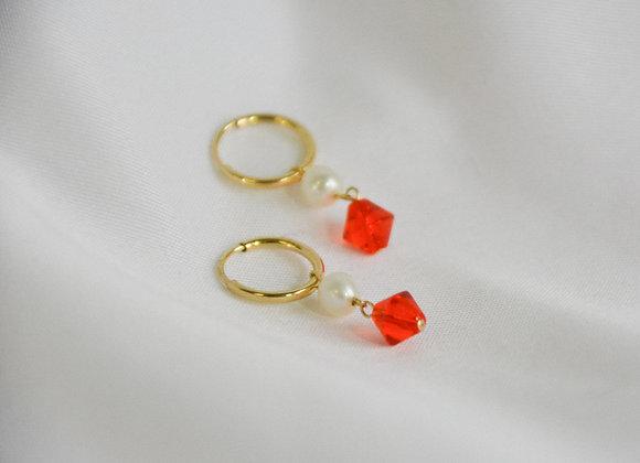 Nani (Red) Earrings