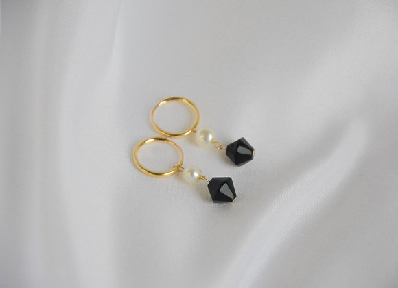 Nani (Black) Earrings