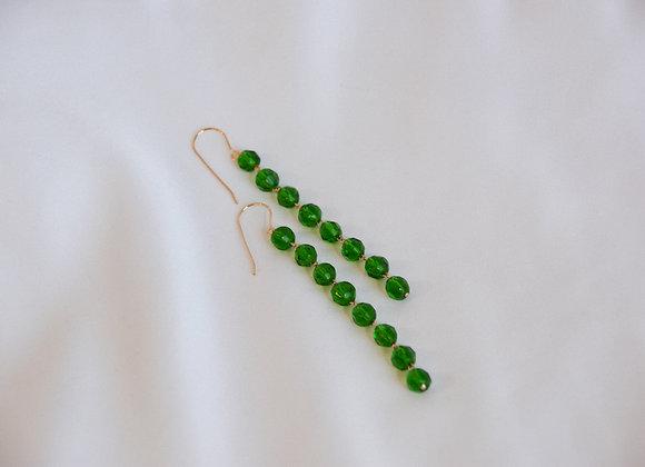 Lemyo (Green) Earrings