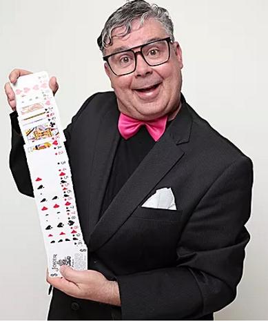 Schweizer Komiker Hugi, Firmenanlass, Geburtstag, Messeattraktion