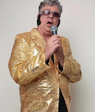 Schweizer Komiker Hugi, Firmenanlass, Geburtstag, Messeattraktion, Elvis Imitator, Alexander Gregory Zimmerling